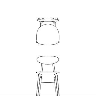 LISCIO/Side Chair