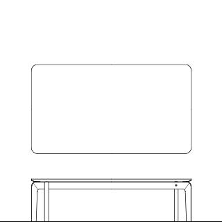 LISCIO/Low Table 126*70