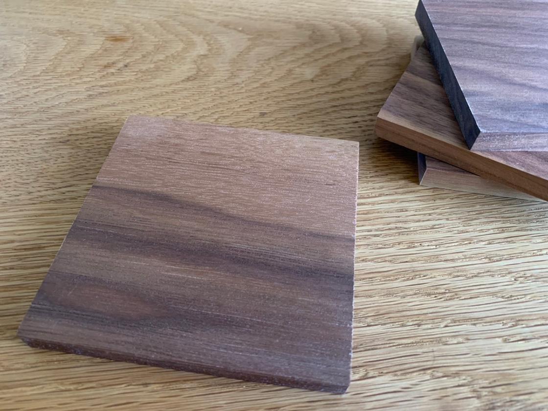 オリジナル木製コースター